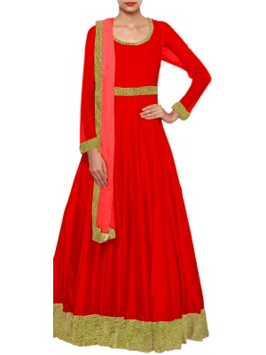 Women's Anarkali Gown Dress