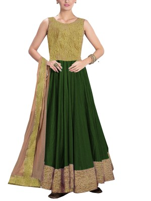 Women's Anarkali Style Gown Dress