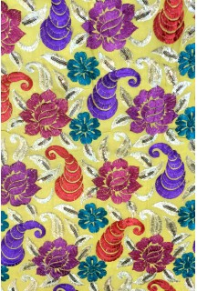 fine Georgette Embrodry Design 44'' width