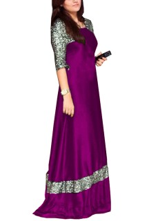 women's long gown Free Size