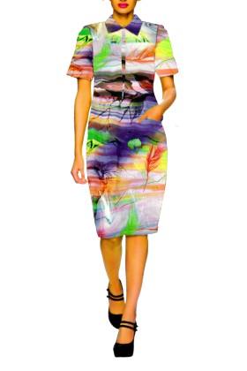 Digital Print Cottan Kurti Style Top