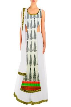 Designer Choli With Lehenga