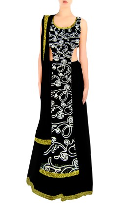 Designer Choli With Lehenga