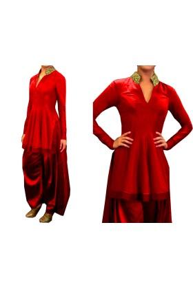 Stylish Short Anarkali Suit