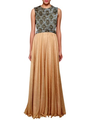 Women's anarkali Style A-line Gown Free Size