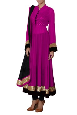 Women's stylish anarkali salwaar suit Free Size